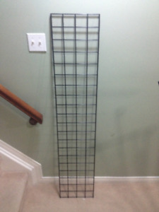 Gridwall Panel 5ft x 1ft Black - Used