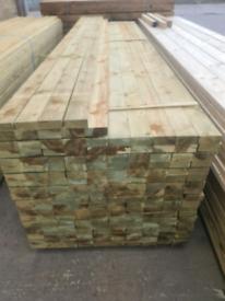 Timber rails