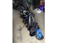 Full set of prosimmon golf clubs