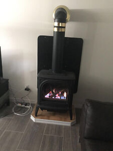 Beautiful Gas Fire place for sale - Dovre 400 Quadra Stratford Kitchener Area image 1