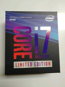 Intel i7 8086k Limited Edition CPU