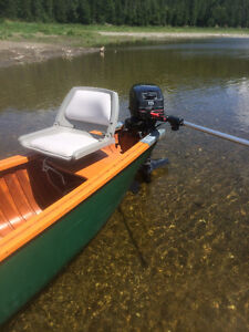 26 FT CANOE WITH TRAILER