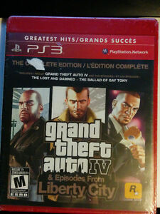 Grand Theft Auto IV Complete Edition SEALED w/ DLC