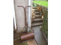 Garden roller older type heavy enough will do the job £15