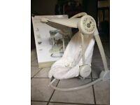 Mamas and Papas starlight musical swinging chair