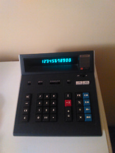 Vintage Sharp Desktop Calculator