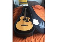 Tanglewood electro-acoustic bass