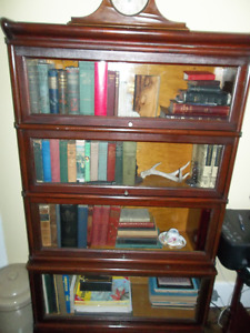 Antique 1900 Barrister's Bookcase
