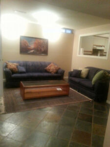 rooms for rent in a  basement apartment.  $650/Room