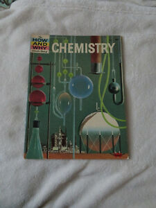 vintage 1961 HOW AND WHY WONDER BOOK OF CHEMISTRY