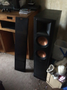 klipsch tower speakers