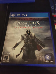 Assassins Creed EZIO COLLECTION (Used w/ minimal scratches)