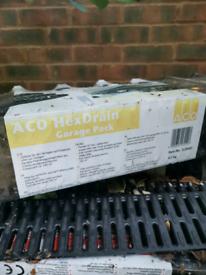 Aco Hexdrain Garage pack