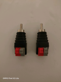 Rca Male Jack To Speakers Wire
