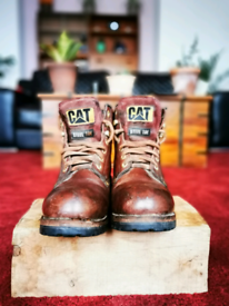 Caterpillar Holton Boots steel toes Size 9