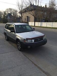 Subaru Forester X 2003 échange