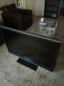 """Sony 46"""" lcd freeview TV. Excellent working order."""