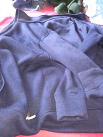 Navy blue brasher jacket