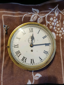 Ship bulkhead clock