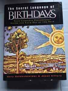 The Secret Language of Birthdays- Astrology/Personology book