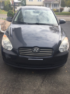 Hyundai accent 120000km automatique