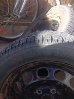 4 toto winter tires on VW rims