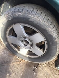 Vw Volkswagen Golf jetta wheels and tires