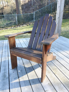 Wood Muskoka Chair *Delivery Available*