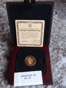 Canada 1976 $100 Olympic 1/2 oz Gold Coin