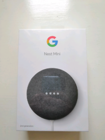 Google Nest Mini (new and sealed)