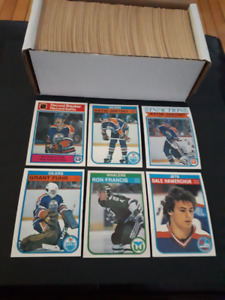 O-PEE-CHEE  1982-83 Complete Set Hockey Cards