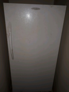 Stand up freezer... willing to trade for a fridge