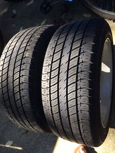 Set of All Season Tires with Alloy Rims
