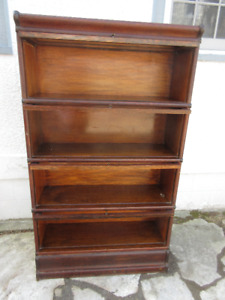 Original Antique (c1900) Wernicke Stacking Bookcase