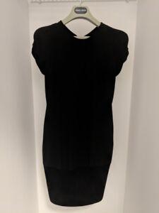 Women's GIORGIO ARMANI black label silk dress HOLT RENFREW –