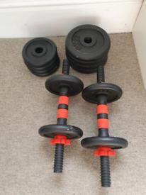 20kg DB Weight Set