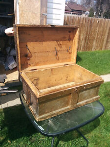 Carpenters Tool box very old