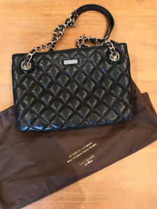 Black Quilted Kate Spade Purse