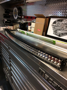"""52"""" And 50"""" Two Row Curved And Straight LED Light Bars"""