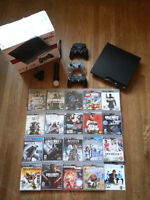PLAYSTATION 3 120GB / 20 JEUX / 3 MANETTES / 1 MOTION CONTROLLER