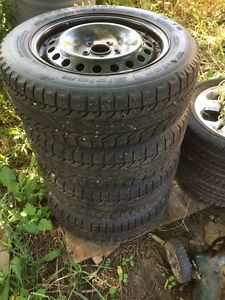 Winter Tires from a Ford Fusion Kawartha Lakes Peterborough Area image 1