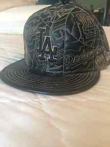 All Leather Limited Edition LA Dodgers Cap