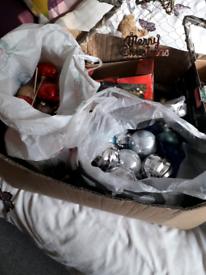 2 big box of Christmas stuff