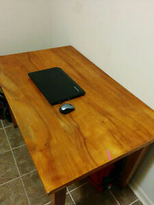 Square desk for free (52 inches L * 33 inches W * 33 inches H)