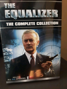 The Equilizer complete TV series DVD new