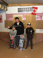 Skateboard lessons make GREAT Christmas gifts!!!