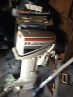 9.9 /hp Johnson outboard