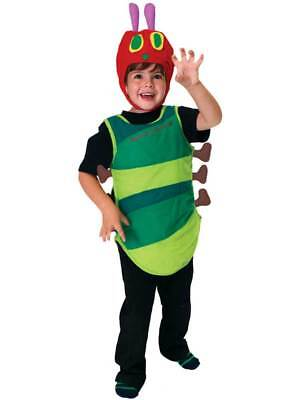 LICENSED Boys Girls Very Hungry Caterpillar Bug Book Week Fancy Dress - Hungry Caterpillar Kostüm
