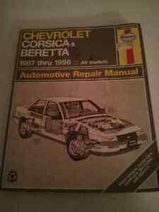 Haynes Repair manual  Chev Corsica/Beretta Cambridge Kitchener Area image 1