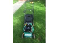 PP Performance petrol lawnmower with Briggs&Stratton engine